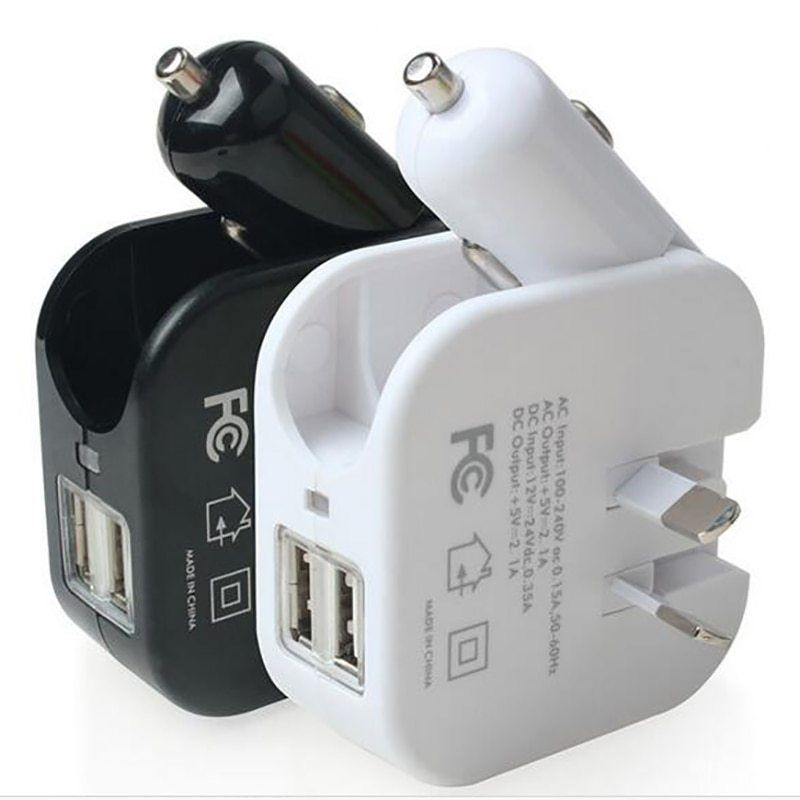 d13d423394b12a USB cell phone charger foldable car cigarette lighter and wall plugs 2in1  universal mobile GPS SLD01 5V 2.1A... original Price($)??23.17sale Price ($)??14.13