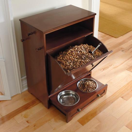 Superior Pet Feeder Station. Dog Food StorageToy ...