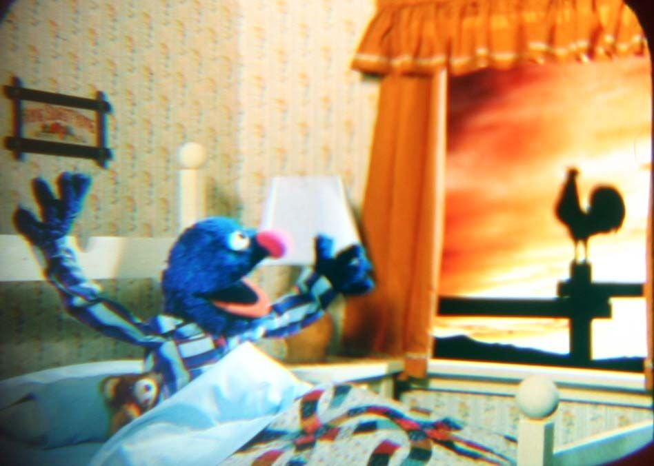 the sun rises for grover
