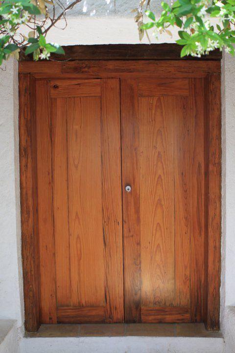 puerta de pino americano 0001 | Puerta de pino | Pinterest | Puertas ...
