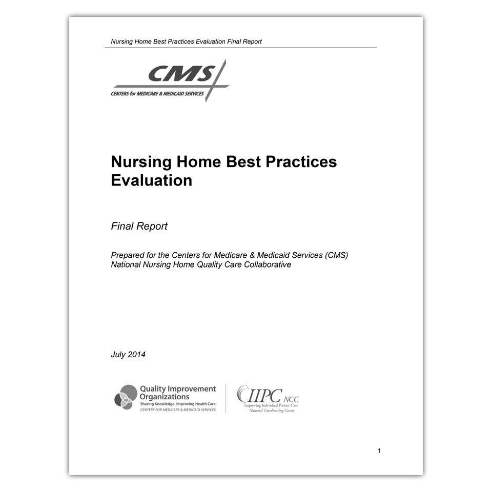CMS Nursing Home Best Practices Report QAPI