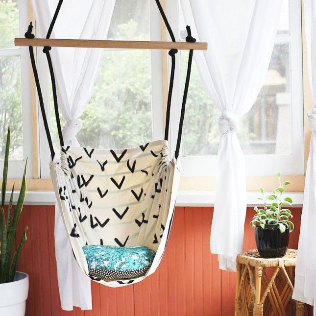 8 DIY Hanging Chairs You Need In Your Home