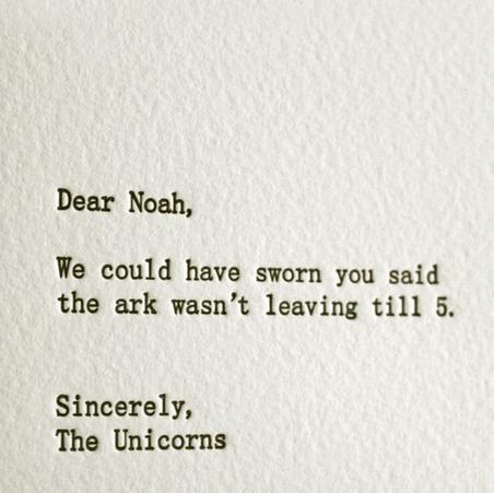 Shame on you Noah ='(