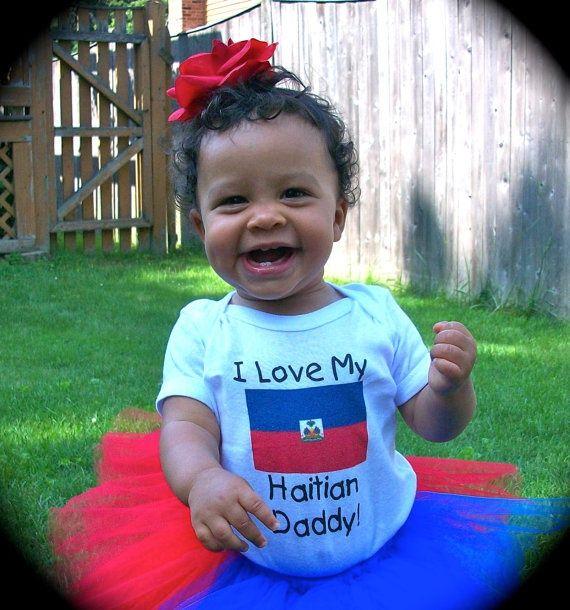 Haiti Flag USA Novelty Toddler Children Baby Boys Girls Long Sleeve Shirt Tops