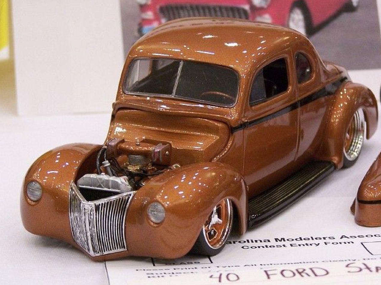 40 Ford Coupe | Plastic Fanatic | Plastic model cars