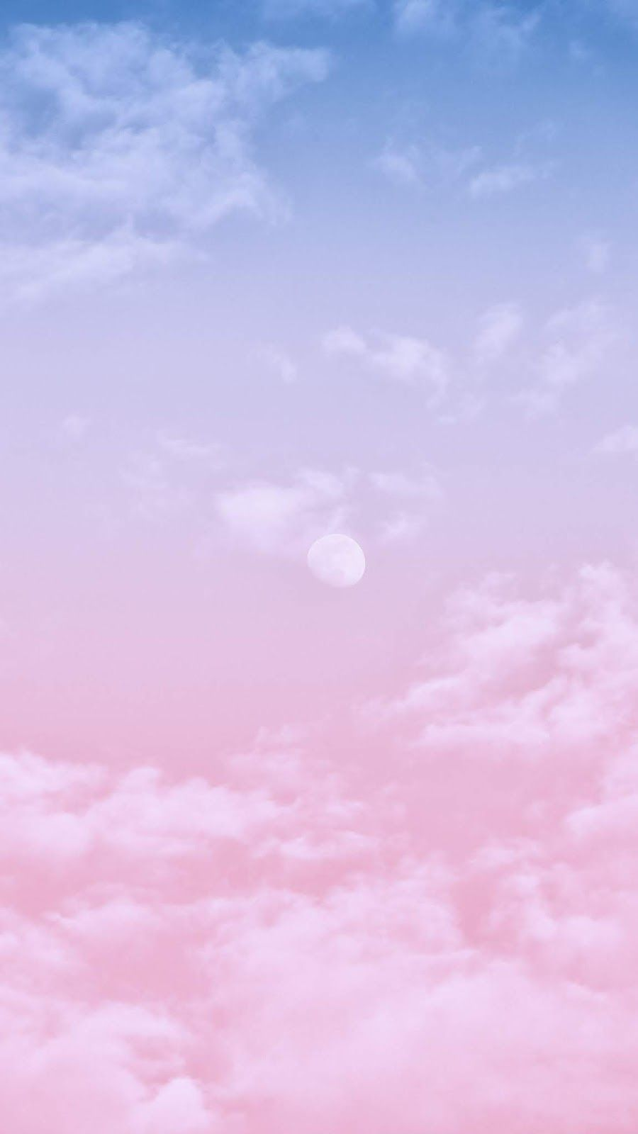 Gradient Clouds Cloud Wallpaper Wallpaper Pink Blue