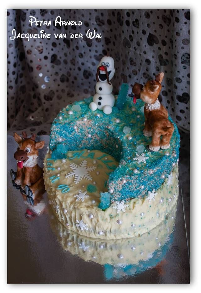 Let it go...let it go ... by Jacqueline van der Wal & Petra Arnold - Cake by Jacqueline - CakesDecor