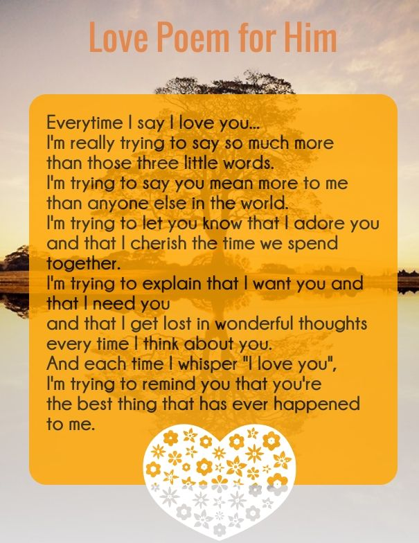 new Love Poem - Every time I say I love u | Life Quotes | Love poems