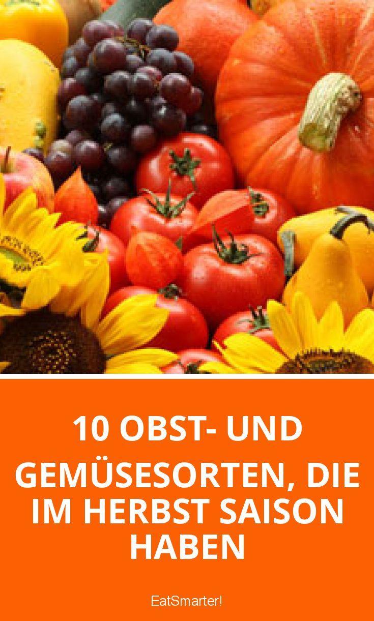 10 obst und gemüsesorten die im herbst saison ha
