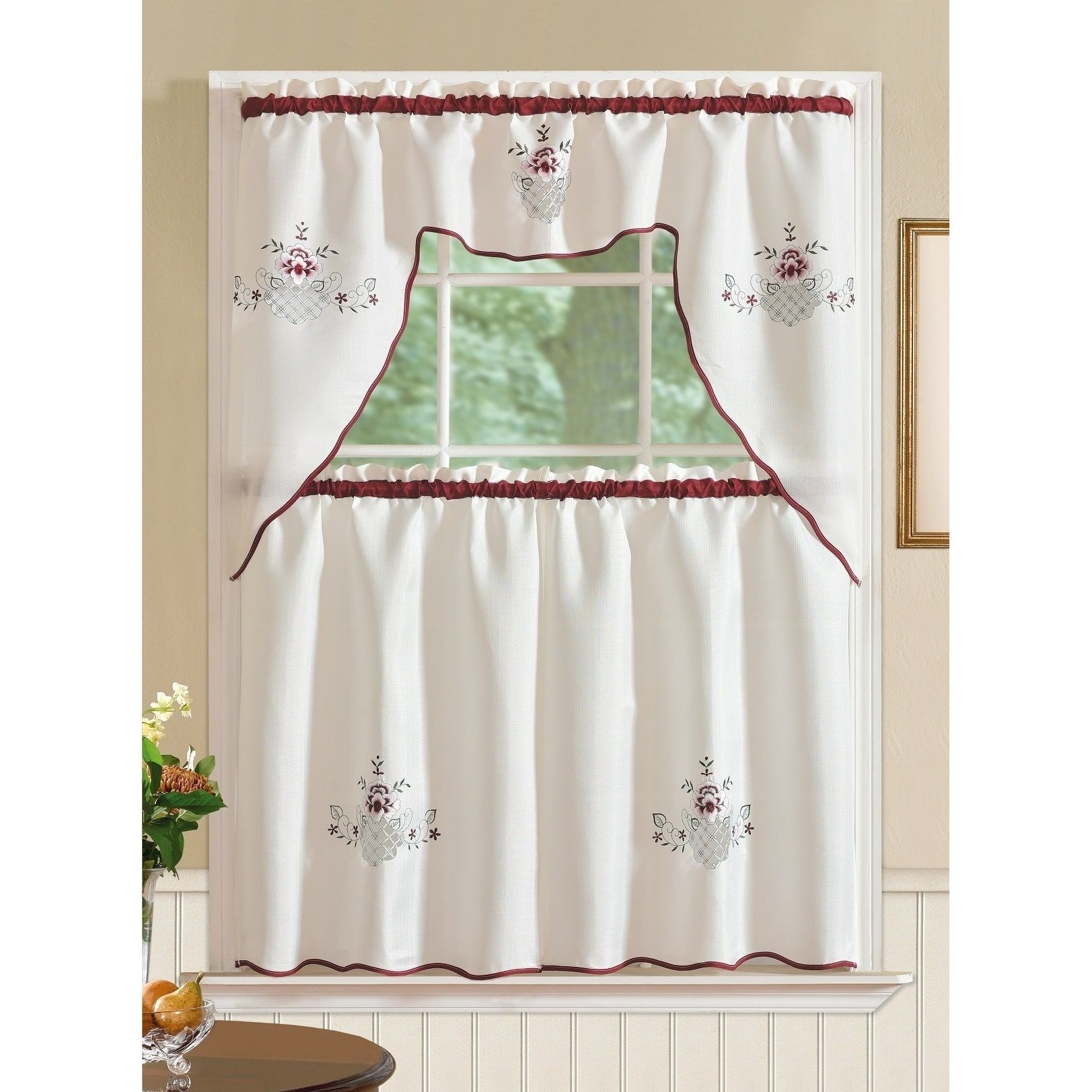 curtain behind and reason themed the modern sets real kitchen curtains decor