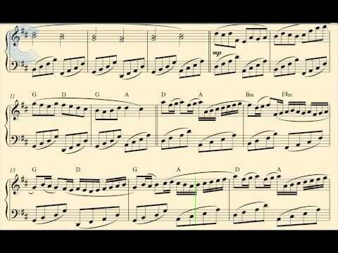 Piano Canon In D Pachelbel Sheet Music Chords Youtube