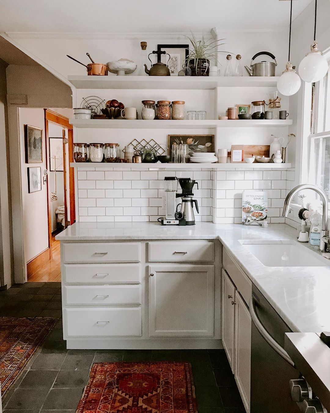 i love food white kitchen floating shelves subway tile white kitchen floating shelves i love on kitchen floating shelves id=16303