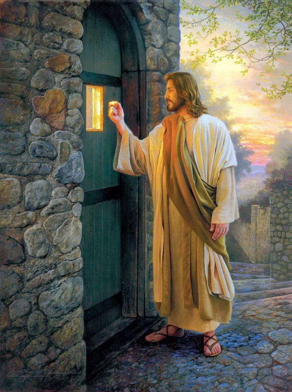 Let Him In by Greg Olsen