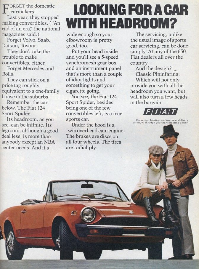 Now that Fiat is selling in the USA again, it\'s good to revisit this ...