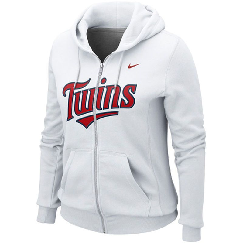 cheap for discount 997be ed9a2 Minnesota Twins Nike Women's Classic Full Zip Hoodie 1.2 ...