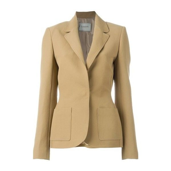 Fitted blazer helps pull look together AND define a waist ...