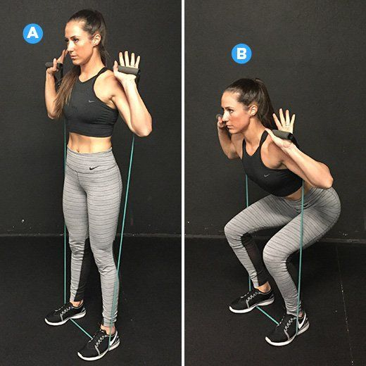 #resistance #exercises #workout #minute #change #think #about #this #will #band #the #way #youThis 2...