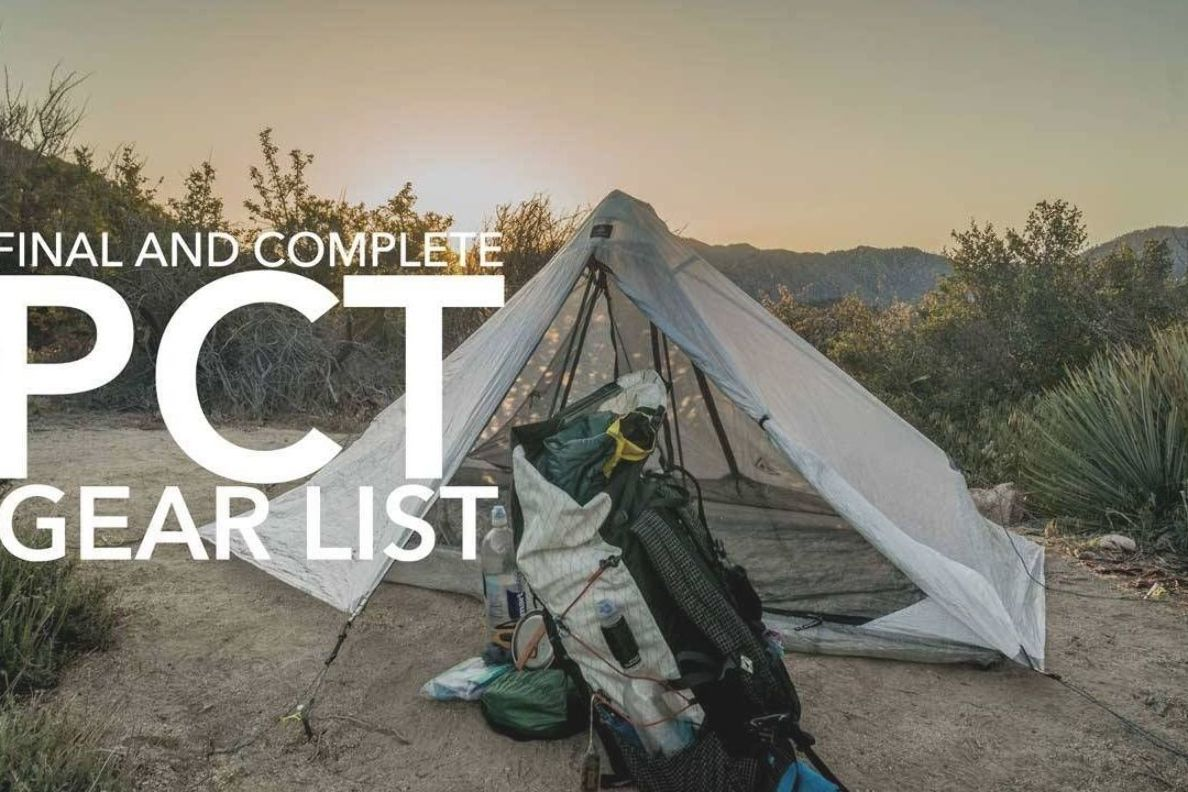 Photo of A Pacific Crest Trail thru-hiker's gear list can more or less define them out on…