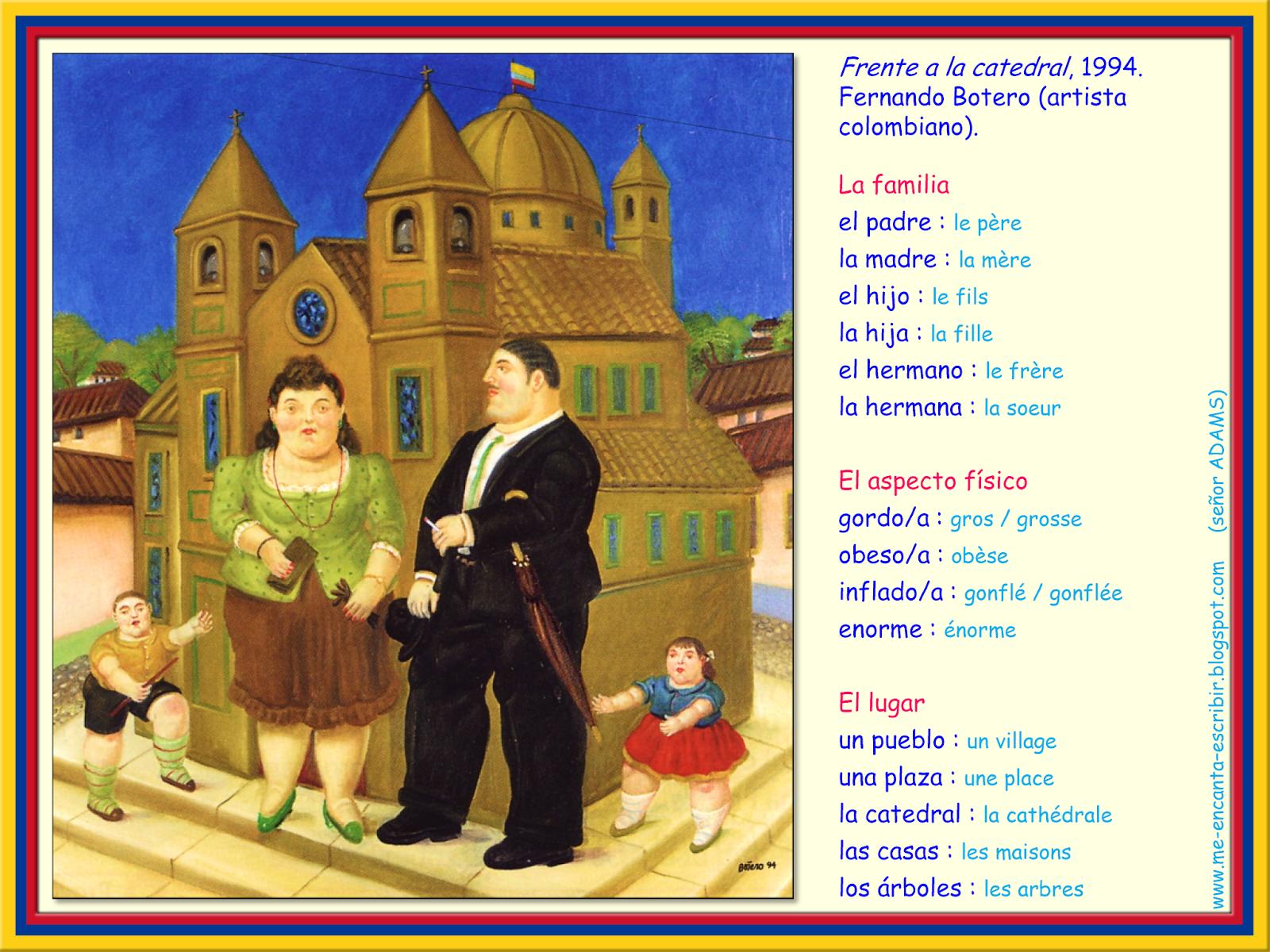 Me Encanta Escribir En Espanol Fernando Botero Frente A