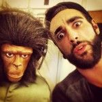 La barba torna di moda e #MarcoMengoni non è da meno. Questo è il suo look attuale