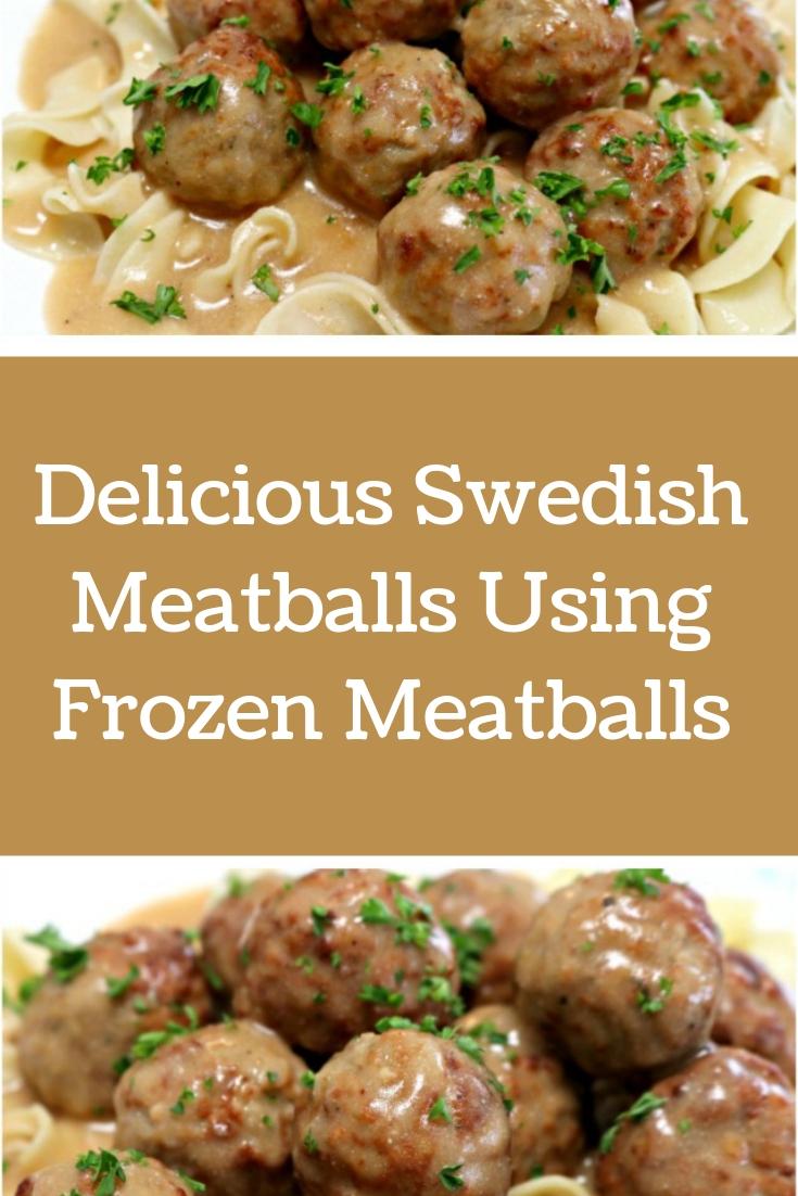 Photo of Delicious Swedish Meatballs Using Frozen Meatballs – Female Zone