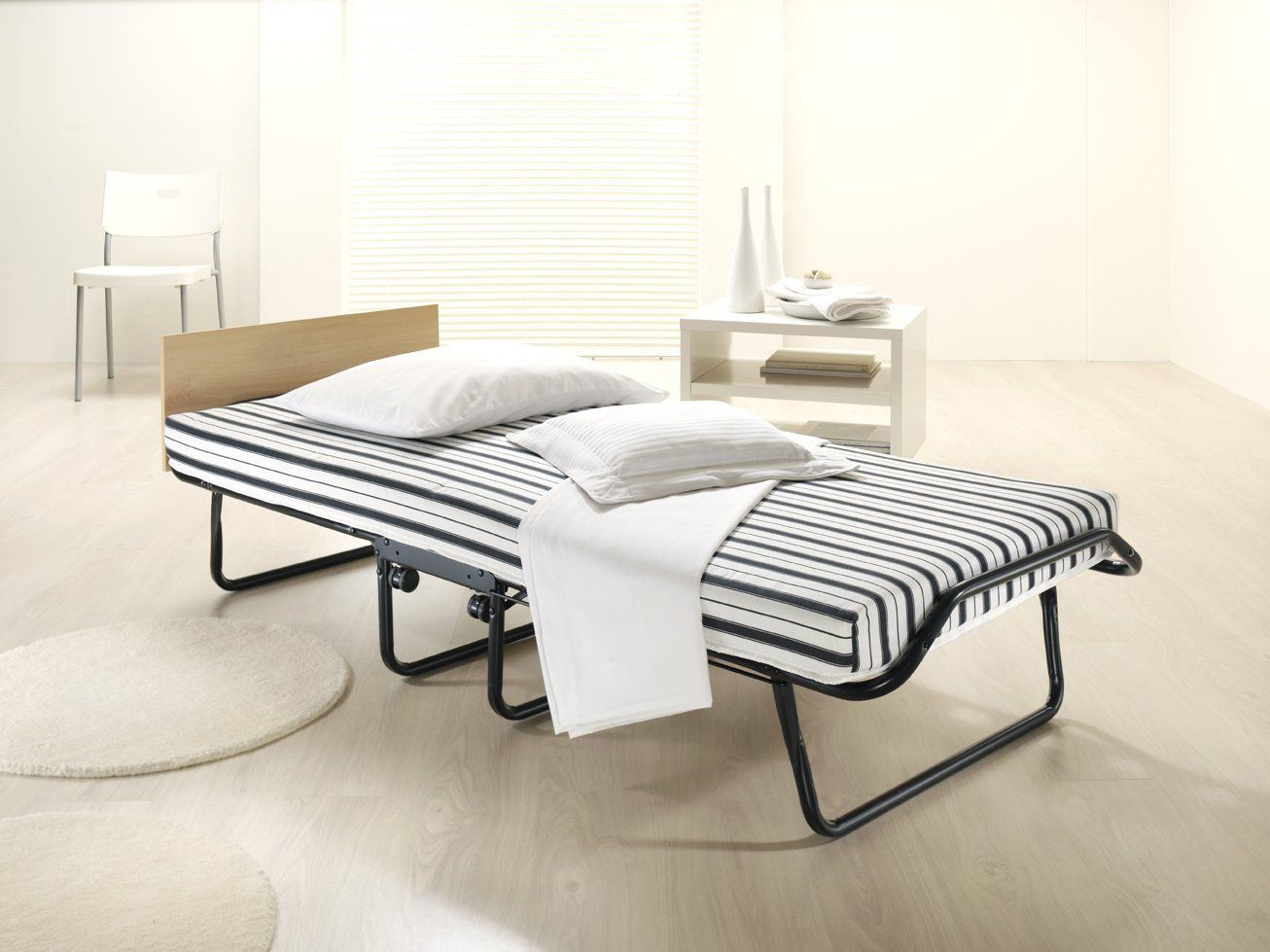 Image result for foldable bed frame Folding guest bed