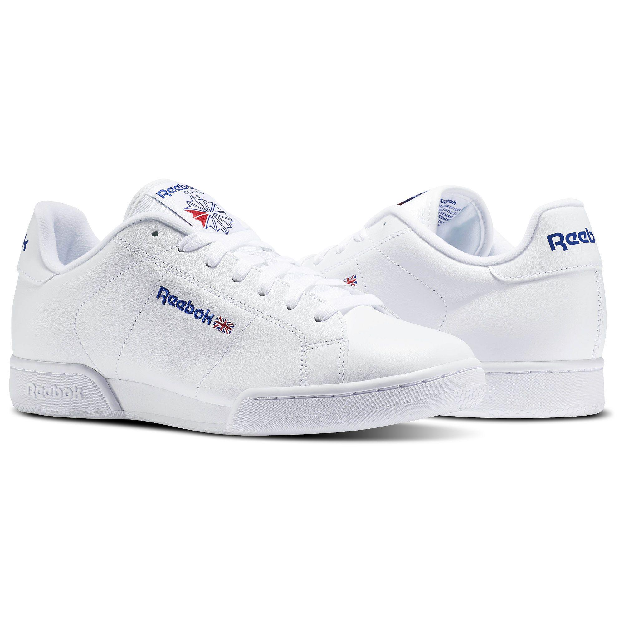 Reebok Classics NPC II (WhiteWhite) Men's Shoes 1354