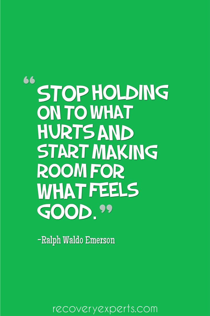 Good Positive Life Quotes Motivational Quotes Stop Holding On To What Hurts And Start