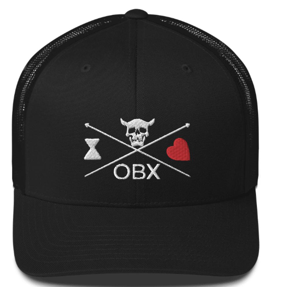 Blackbeard Obx Trucker Hat Blackbeard Hat Outer Banks Hat Black Beard North Carolina Hat Trucker Hat Black Beard Pirate Hats