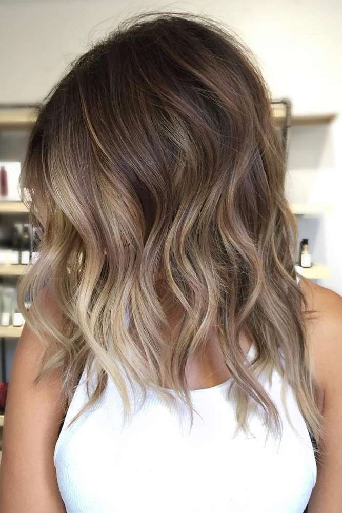 36 Simple and cute hairstyles for medium length hair - Light and cute hairsty… in 2020   Hair ...