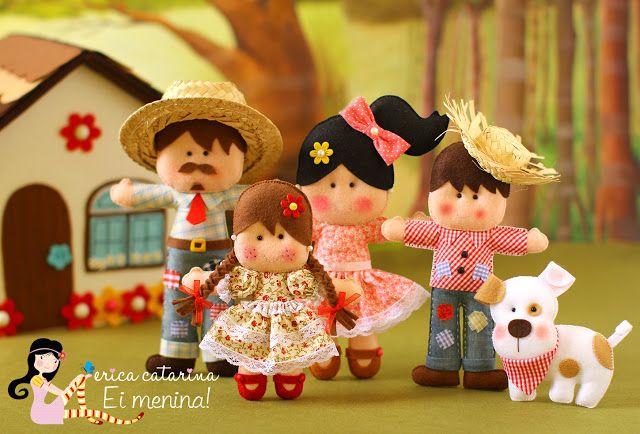 Ei Menina!: Em clima de festa junina!