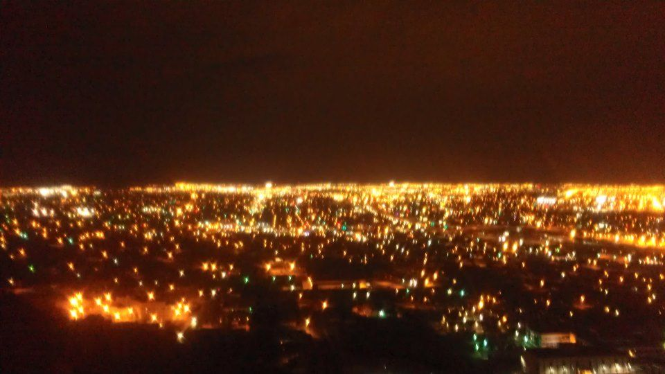 El Paso Texas city lights from Scenic Drive :)