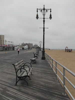 Image result for coney island winter