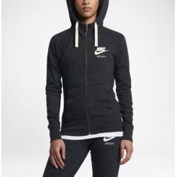 Photo of Moletom com capuz e zíper feminino Nike Sportswear Gym Vintage – preto Nike