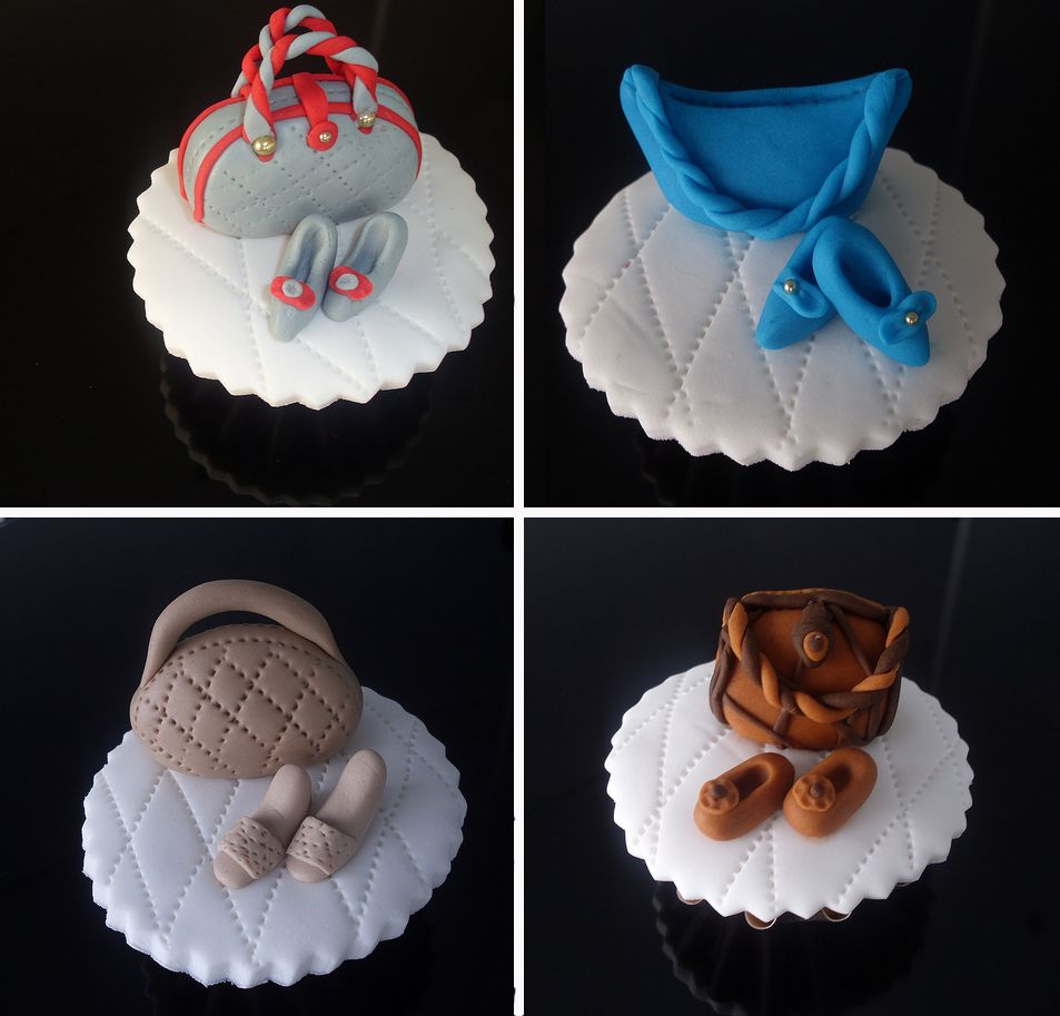 shoe party ideas | Pretty shoes and bags Handbags – Party Cupcake Ideas