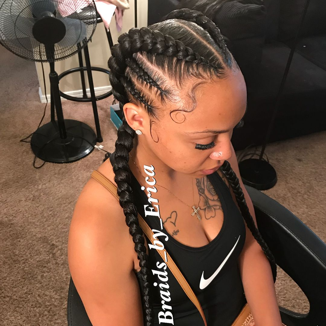 Wow Just Stunning Braids By Erica Https Blackhairinformation Com Hairstyle Galle Peinados Largos Trenzas Con Pelo Postizo Peinados Modernos Con Trenzas