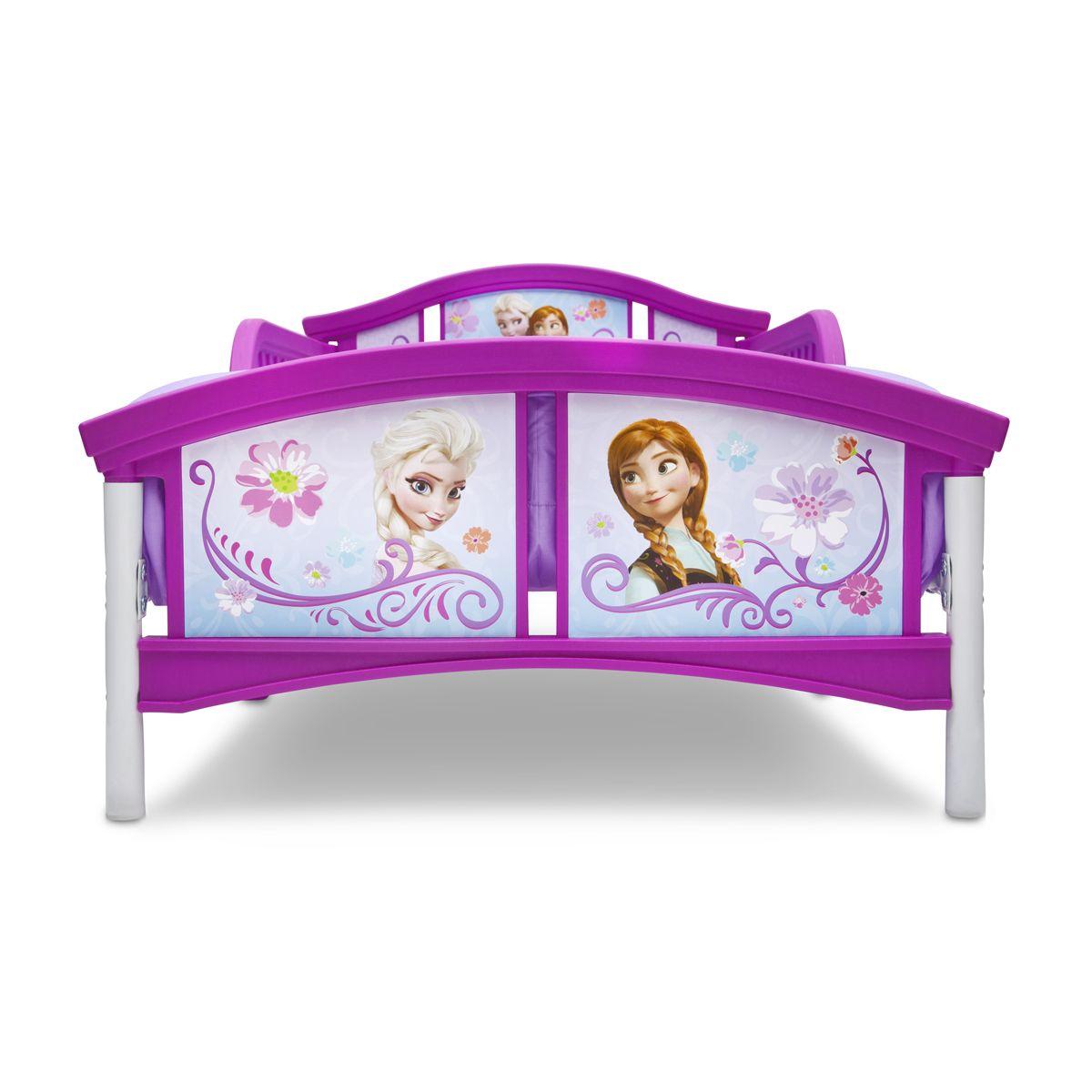 Delta Children Disney Frozen Plastic Toddler Bed Character