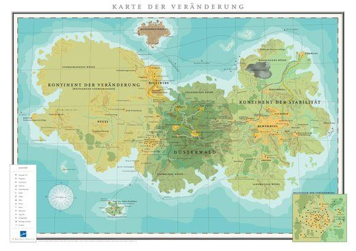 Karte der Veränderung