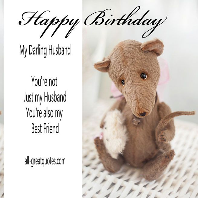 Say Happy Birthday To Your Hubby With My Collection Of