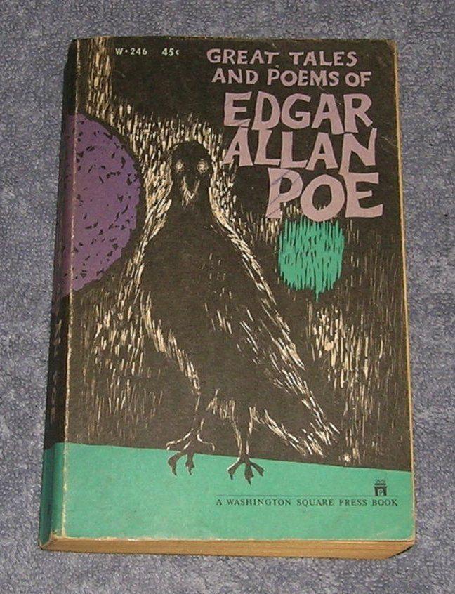 VINTAGE 1961 ~ EDGAR ALLAN POE ~ GREAT TALES AND POEMS ~ HORROR ~ 2ND PRINT