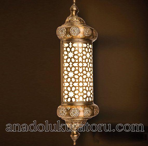 Handmade Wall Sconce Lantern Metal Morocco Lamp light Vintage Mother/'s day gift