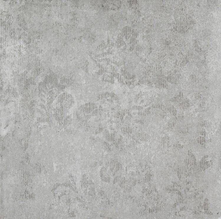 Marazzi #Brooklyn Gray Decoro 60x60 cm ML7S | #Gres #cemento ...