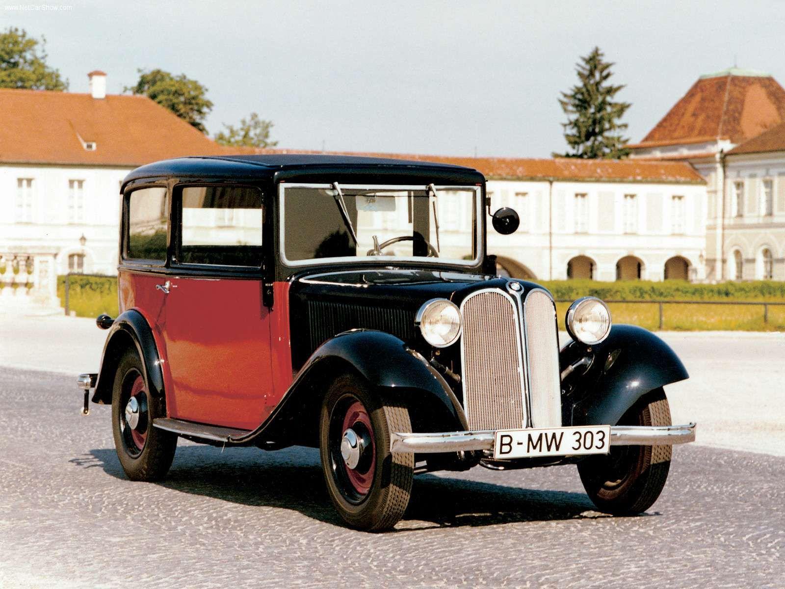1933 BMW 303 Limousine - BMW pictures information & specs ...