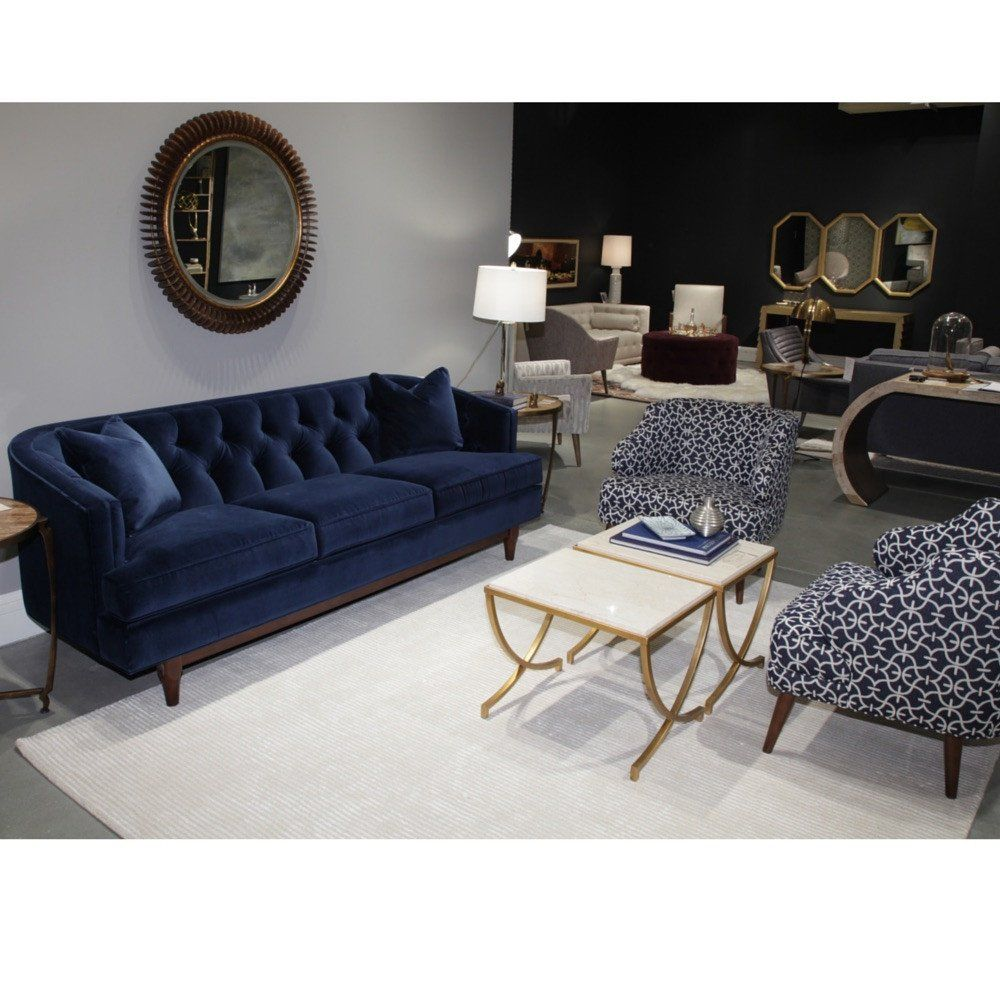 Emma Sofa Thanks To Its Softly Rounded Silhouette The Has A Soft Down Earth Eal Meticulous Tufting Exemplifies Traditional Elegance