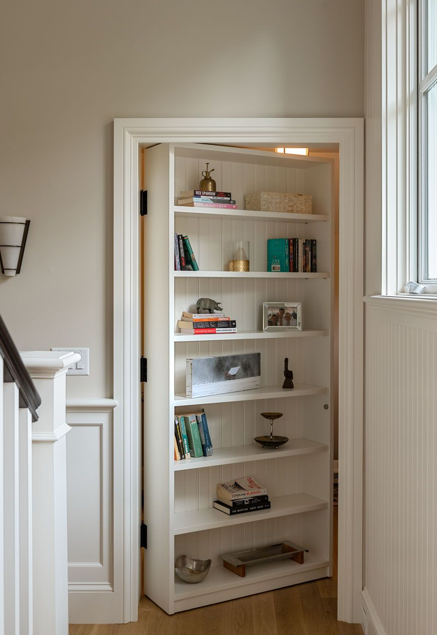 Hidden Bookshelf Door Hidden Bookshelf Door Hidden Rooms Bookshelf Door