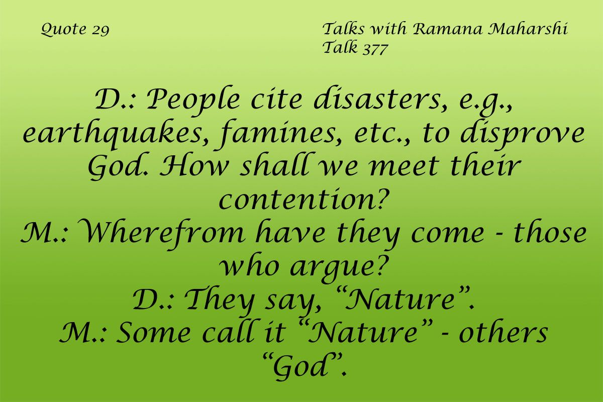 How To Cite A Quote Quote 29  Ramana Maharshi And Truths