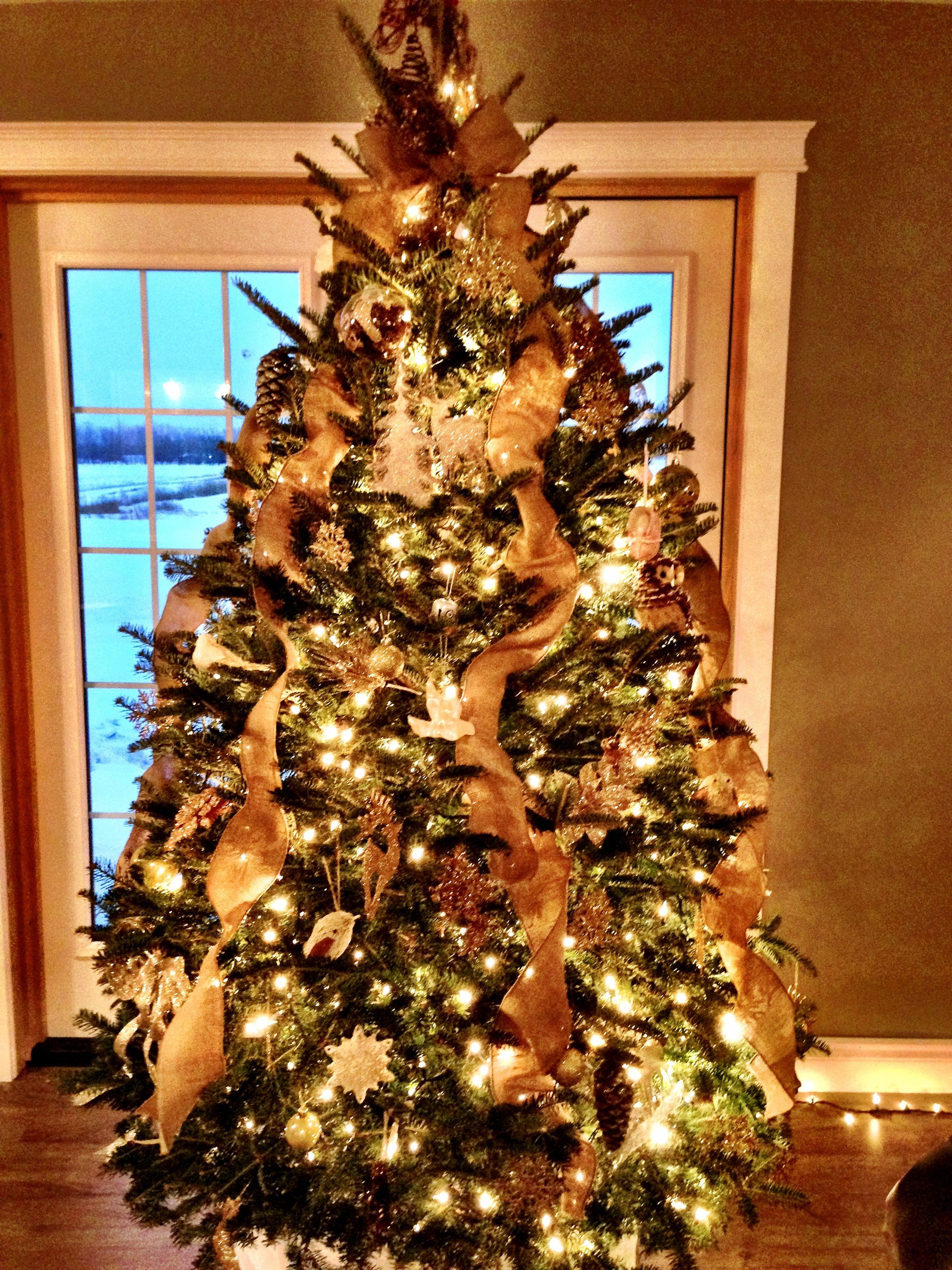 Rustic Christmas Tree Dec Ideas Pinterest
