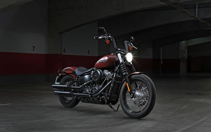 Download Wallpapers Harley-Davidson Street Bob 107, 4k