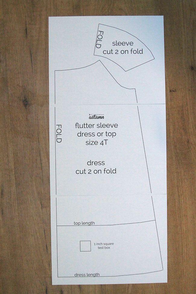 Cómo hacer un top o vestido con mangas en ondas. Tutorial paso a ...