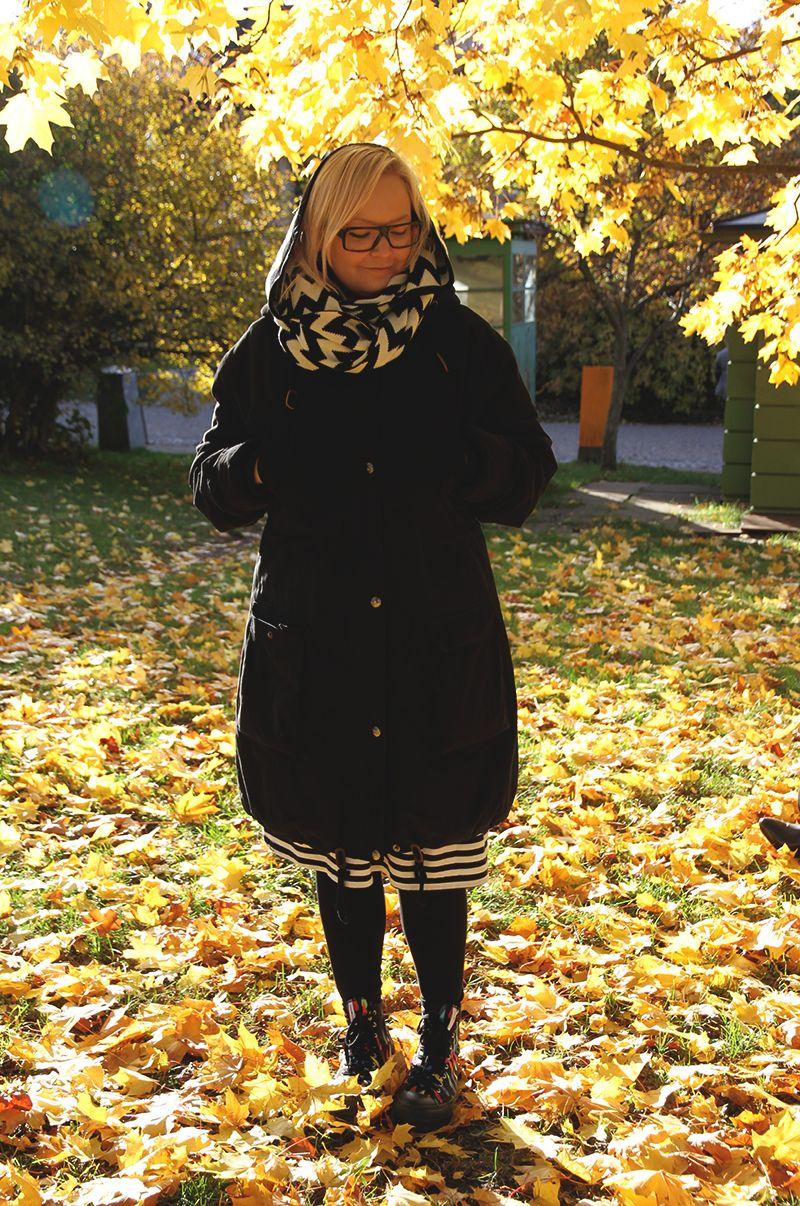 Honey Riikka suomenlinna Marimekko jacket